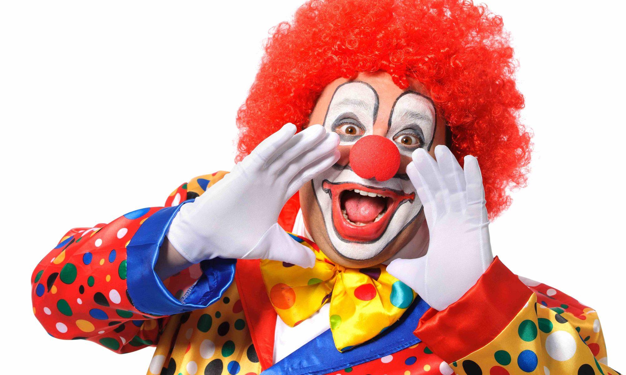 Clown für Ihre Feier bestellen